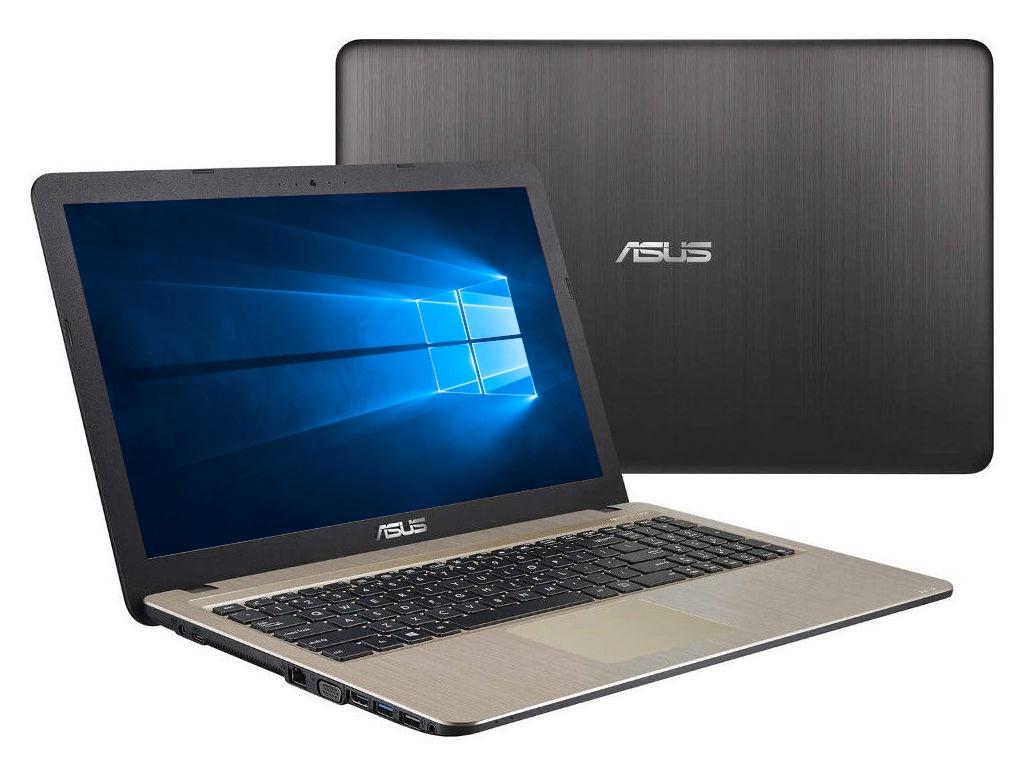 Ноутбук ASUS D540YA-XO791T 90NB0CN1-M11810 (AMD E2-6110 1.5 GHz/4096Mb/500Gb/AMD Radeon R2/Wi-Fi/Bluetooth/Cam/15.6/1366x768/Windows 10 Home 64-bit) d540ya xo791t
