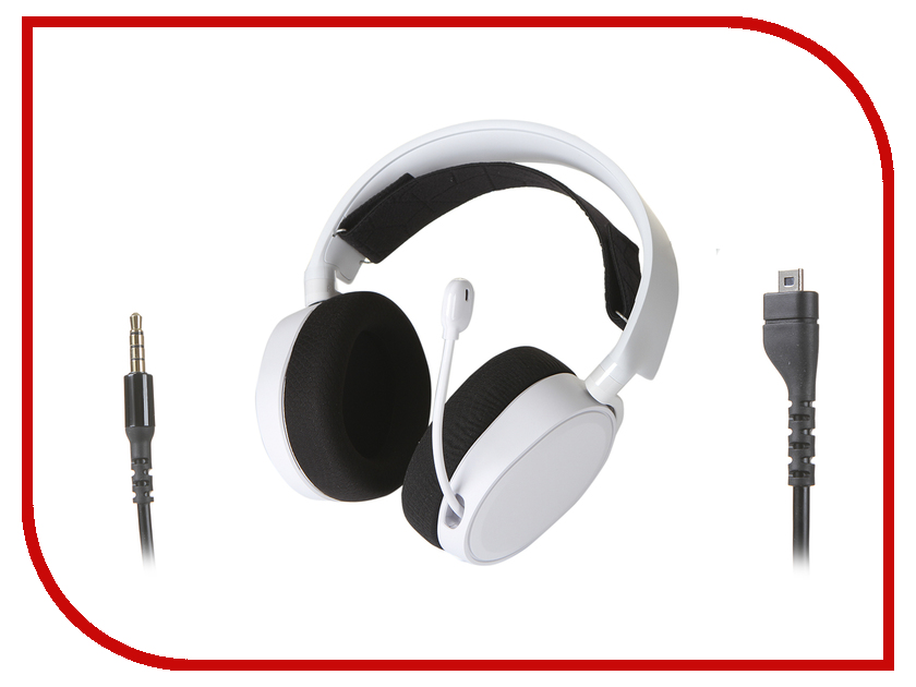 SteelSeries Arctis 3 2019 Edition White 61506 steelseries arctis 5 white