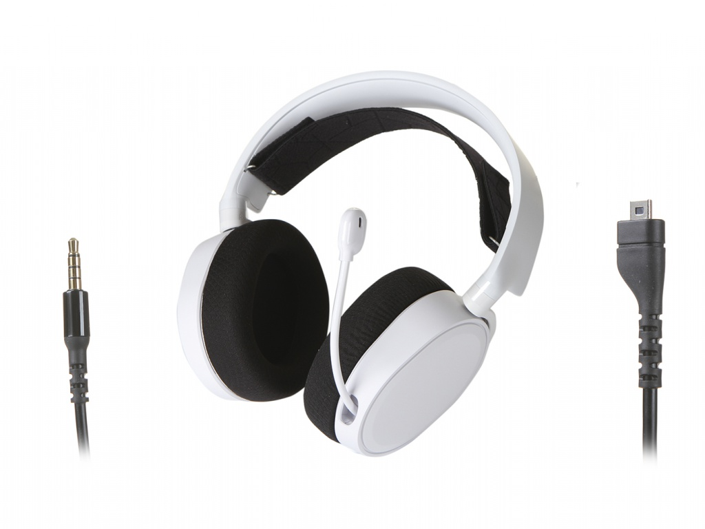 SteelSeries Arctis 3 2019 Edition White 61506 steelseries arctis 7 2019 edition black