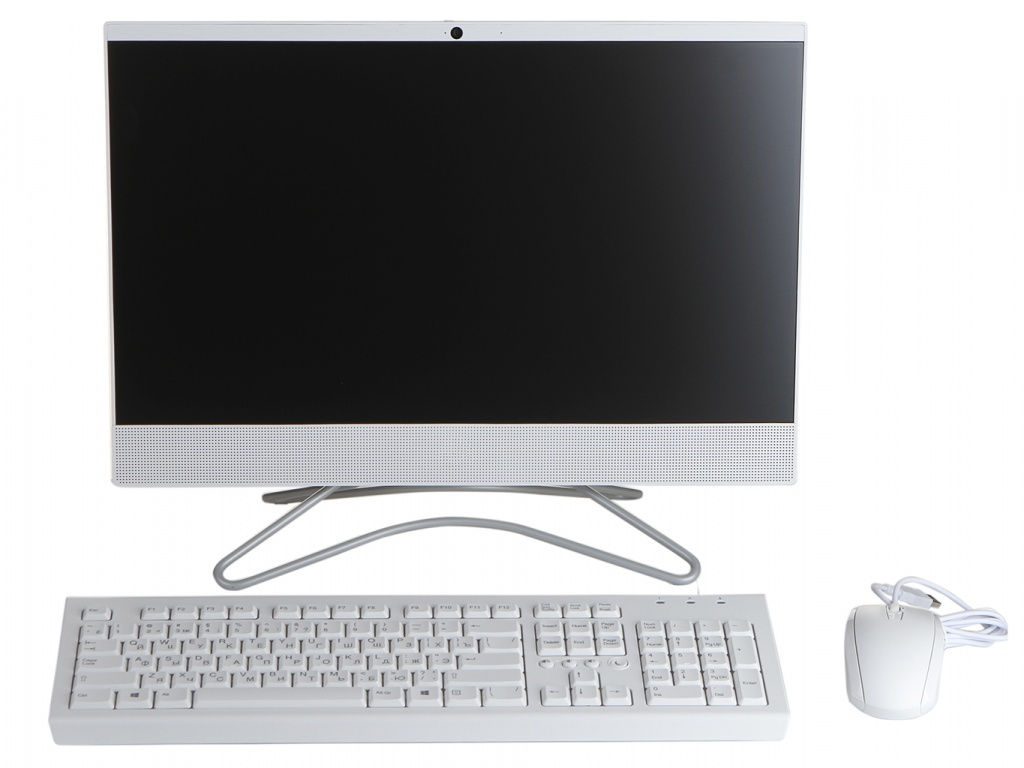 Моноблок HP 22-c0000ur White 4HE83EA (AMD A6-9225 2.6 GHz/4096Mb/500Gb/AMD Radeon R4/Wi-Fi/Bluetooth/Cam/21.5/1920x1080/DOS)