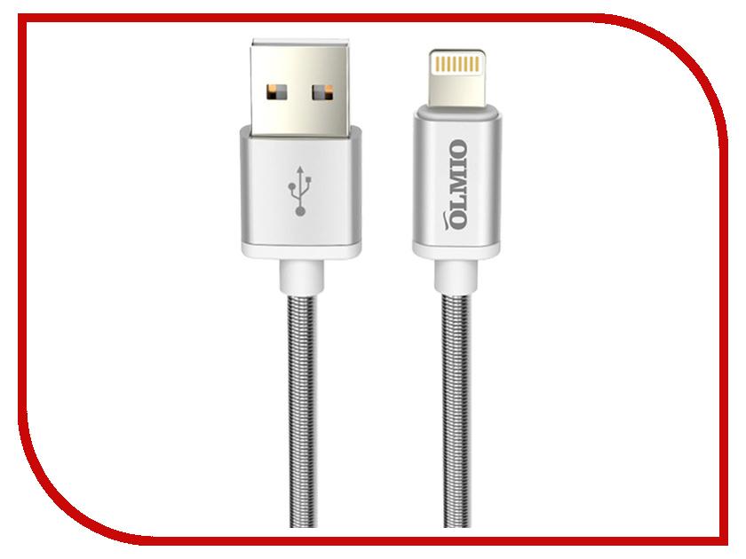 Аксессуар Olmio USB - Lightning 1.2m White 038645 аксессуар usams us sj199 usb lightning 1 2m blue