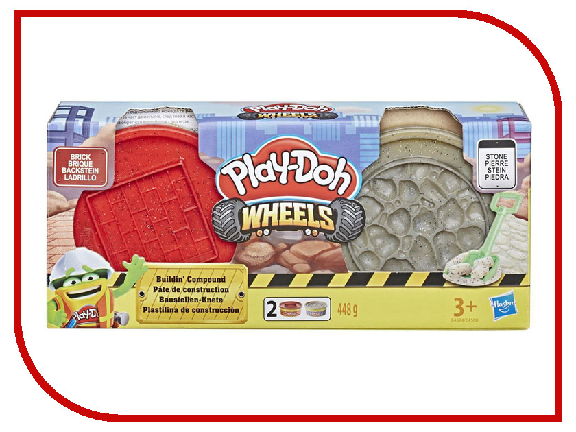 Игрушка Hasbro Play-Doh Wheels E4508EU4 игрушка hasbro play doh сумасшедшие прически b1155