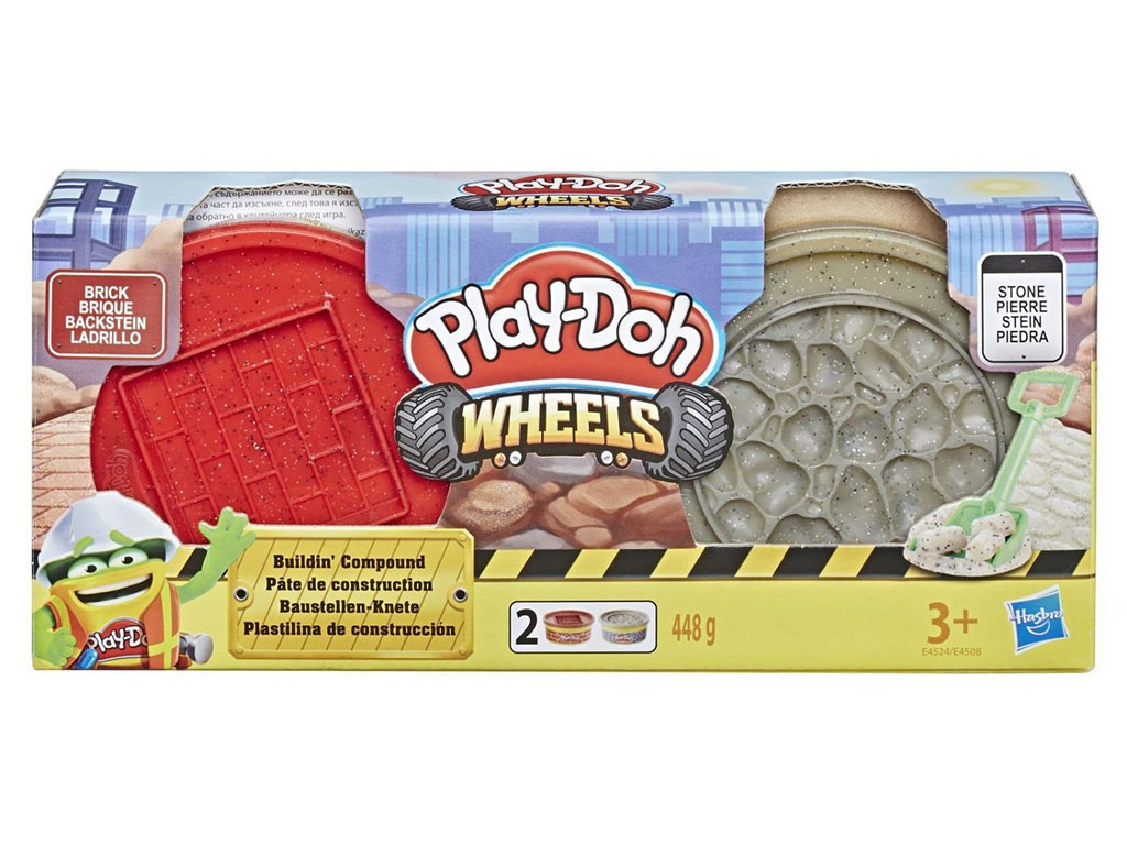 Игрушка Hasbro Play-Doh Wheels E4508EU4