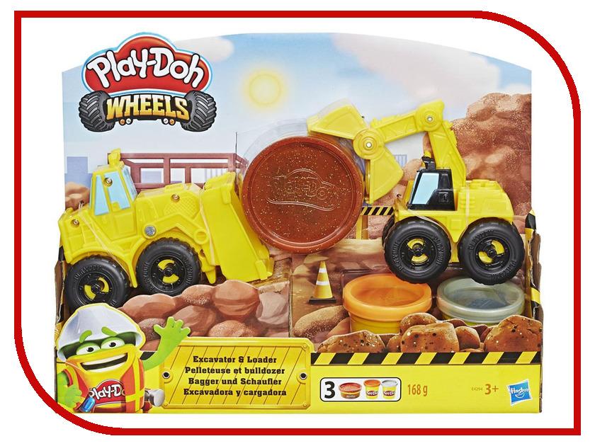 Игрушка Hasbro Play-Doh Экскаватор E4294EU4 игрушка hasbro play doh сумасшедшие прически b1155