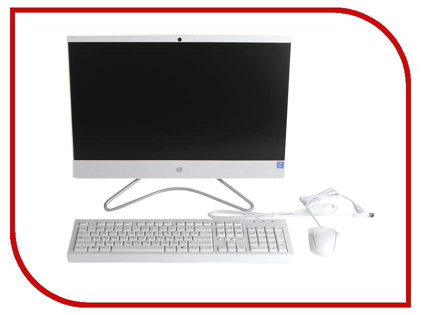 Моноблок HP 22-c0011ur White 4HE40EA (Intel Pentium Silver J5005 1.5 GHz/8192Mb/1Tb/UHD Graphics 605/Wi-Fi/Bluetooth/Cam/21.5/1920x1080/DOS) моноблок lenovo ideacentre aio 520 24iku ms silver f0d2003urk intel core i5 7200u 2 5 ghz 8192mb 1000gb dvd rw intel hd graphics wi fi bluetooth cam 23 8 1920x1080 dos