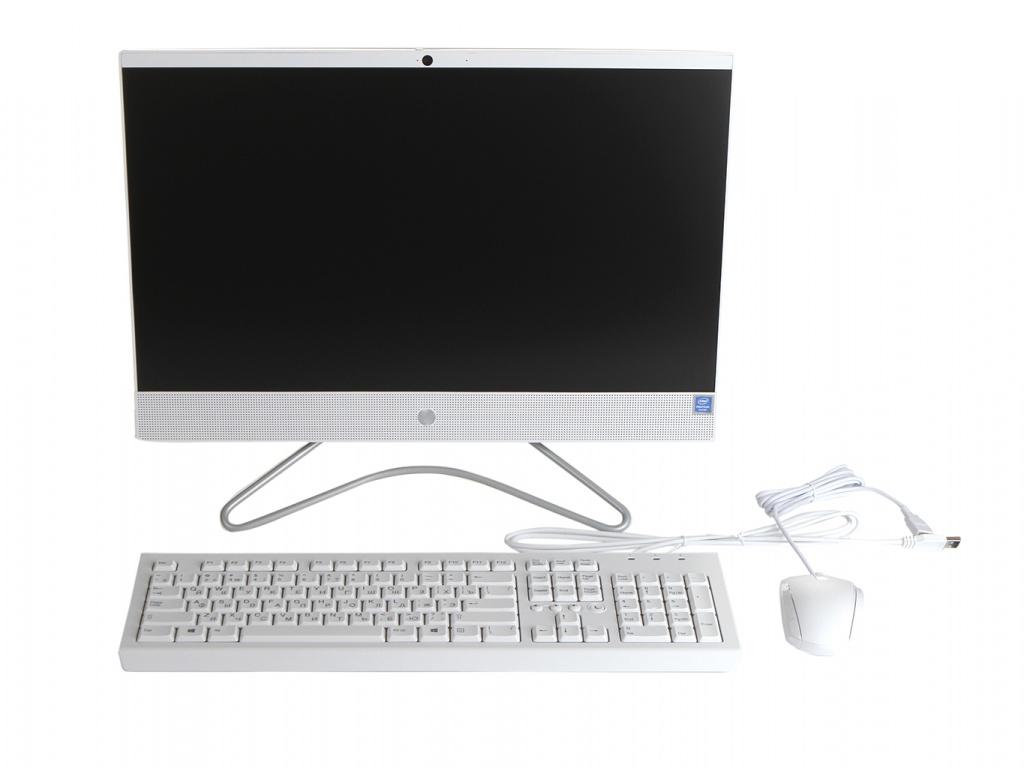 Моноблок HP 22-c0011ur White 4HE40EA (Intel Pentium Silver J5005 1.5 GHz/8192Mb/1Tb/UHD Graphics 605/Wi-Fi/Bluetooth/Cam/21.5/1920x1080/DOS)