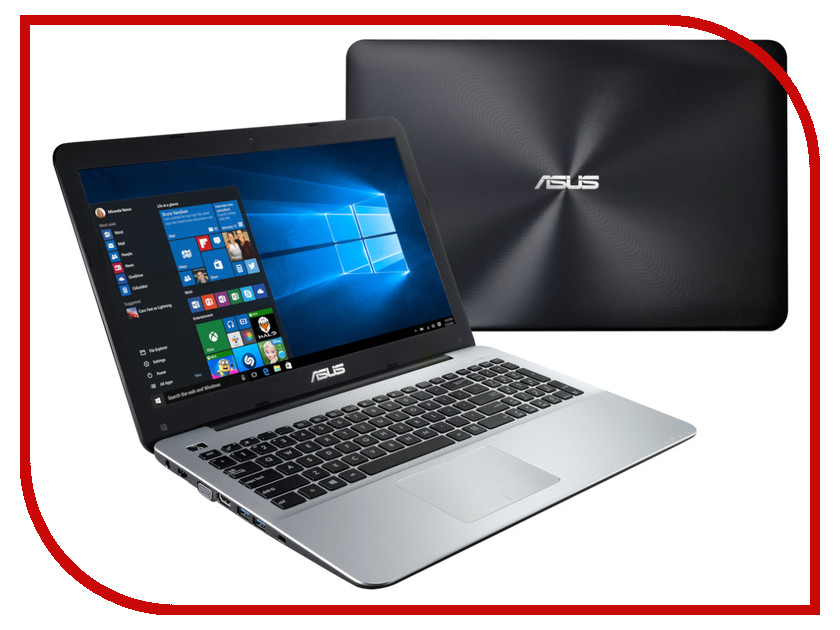 Ноутбук ASUS X555BP-XX297T 90NB0D32-M04190 (AMD A9-9420 3.0 GHz/4096Mb/1000Gb/AMD Radeon R5 M420 2048Mb/Wi-Fi/Bluetooth/Cam/15.6/1366x768/Windows 10 Home 64-bit) ноутбук hp 15 bw045ur 2bt64ea amd a6 9220 2 5 ghz 4096mb 1000gb dvd rw amd radeon 520 2048mb wi fi bluetooth cam 15 6 1960x1080 windows 10 64 bit