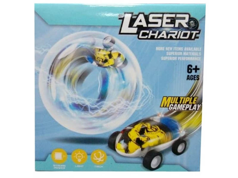 Игрушка Veila Машинка в шаре Laser Chariot 1009