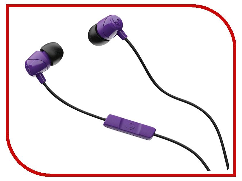 Skullcandy JIB w/Mic Purple-Black-Purple S2DUYK-629