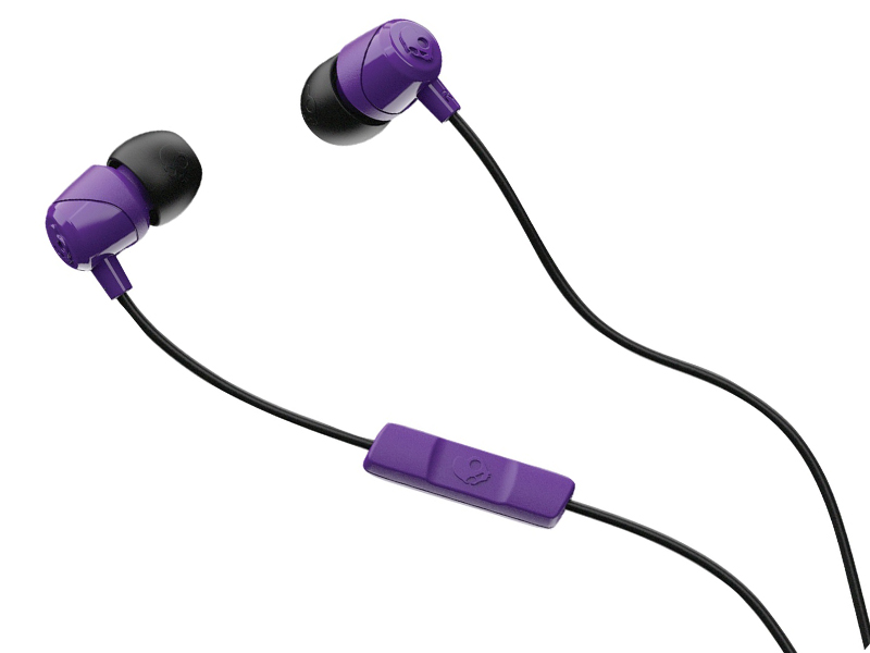 Skullcandy JIB w/Mic Purple-Black-Purple S2DUYK-629 skullcandy venue black