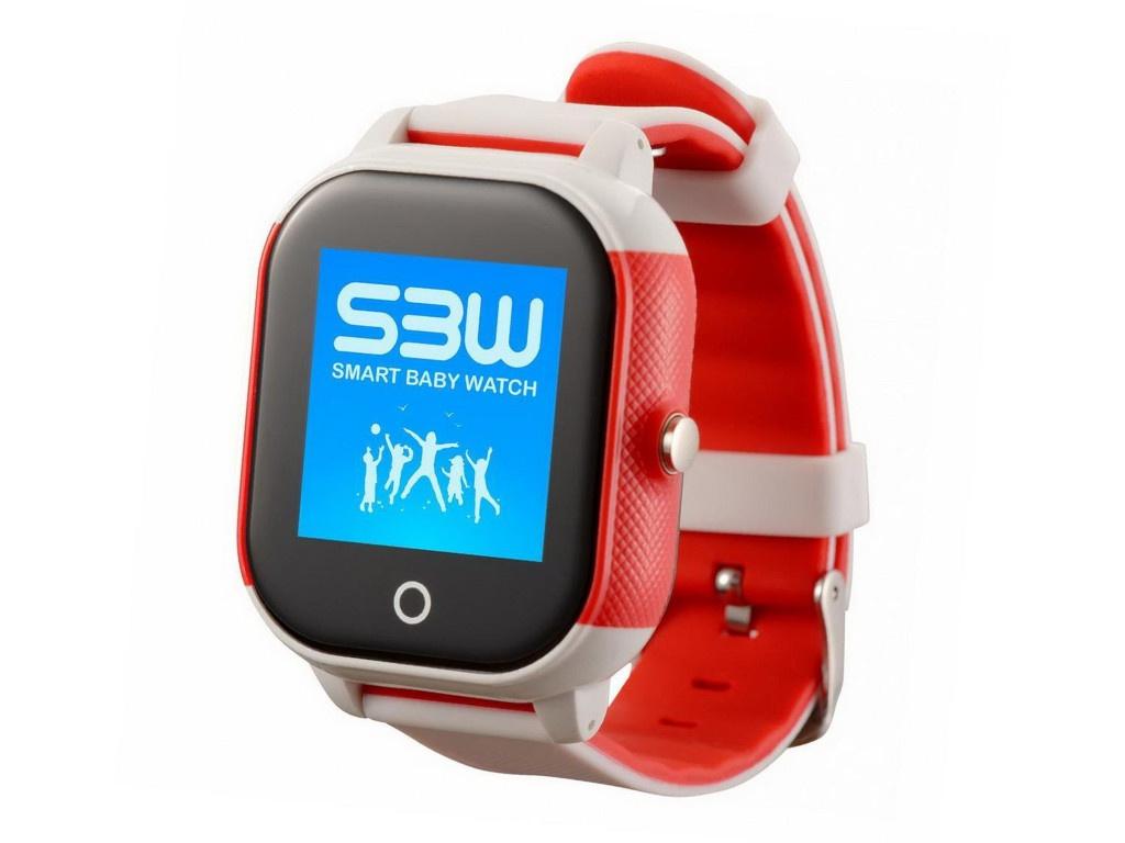Smart Baby Watch SBW WS White-Red smart u8 mtk wrist watch bt3 0 u 2 4ghz watch