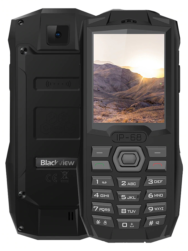 Сотовый телефон Blackview BV1000 Black