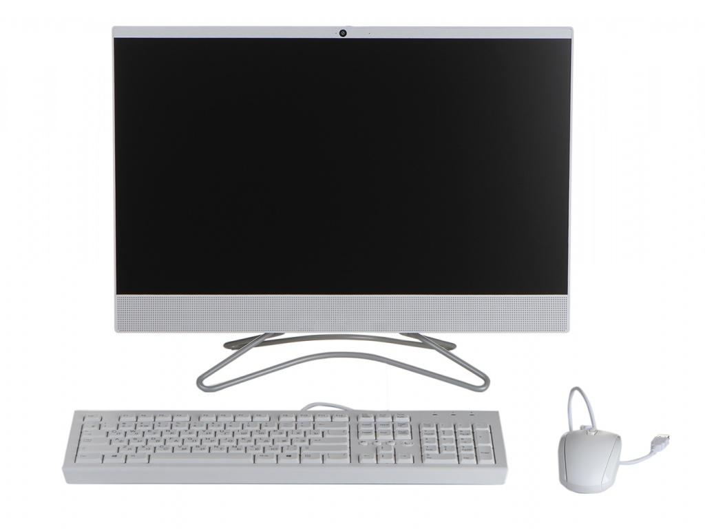 Моноблок HP 24-f0005ur White 4GW39EA (AMD A9-9425 3.1 GHz/4096Mb/1Tb/AMD Radeon R5/Wi-Fi/Bluetooth/Cam/23.8/1920x1080/DOS)