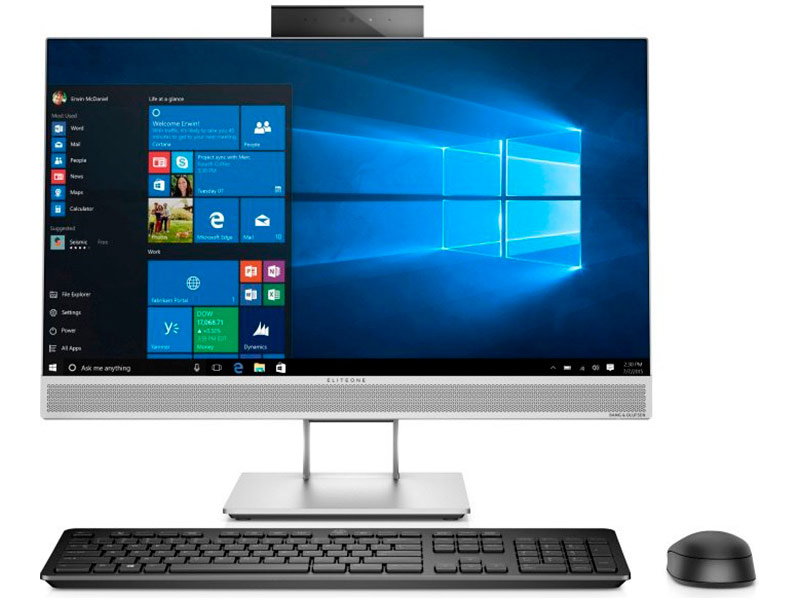 Моноблок HP EliteOne 800 G4 Silver 4KX14EA (Intel Core i7-8700 3.2 GHz/8192Mb/512Gb/UHD Graphics 630/Wi-Fi/Bluetooth/Cam/23.8/1920x1080/Windows 10 Pro) моноблок hp eliteone 800 g4 silver 4kx14ea intel core i7 8700 3 2 ghz 8192mb 512gb uhd graphics 630 wi fi bluetooth cam 23 8 1920x1080 windows 10 pro