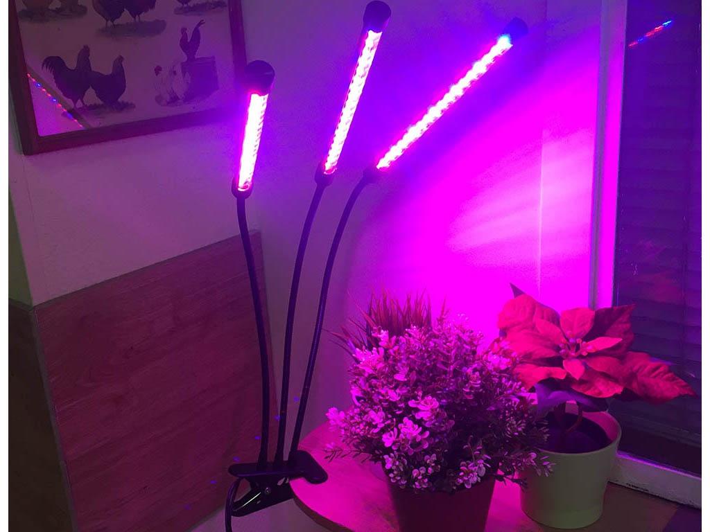 Светодиодный фитосветильник Espada Fito E-EPL3 Black 43902