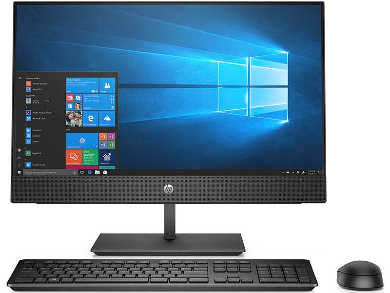 Моноблок HP ProOne 440 G4 Black 4YW00ES (Intel Core i7-8700T 2.4 GHz/16384Mb/1Tb + SSD 128Gb/Radeon 530 2048Mb/23.8/1920x1080/Windows 10 Pro)