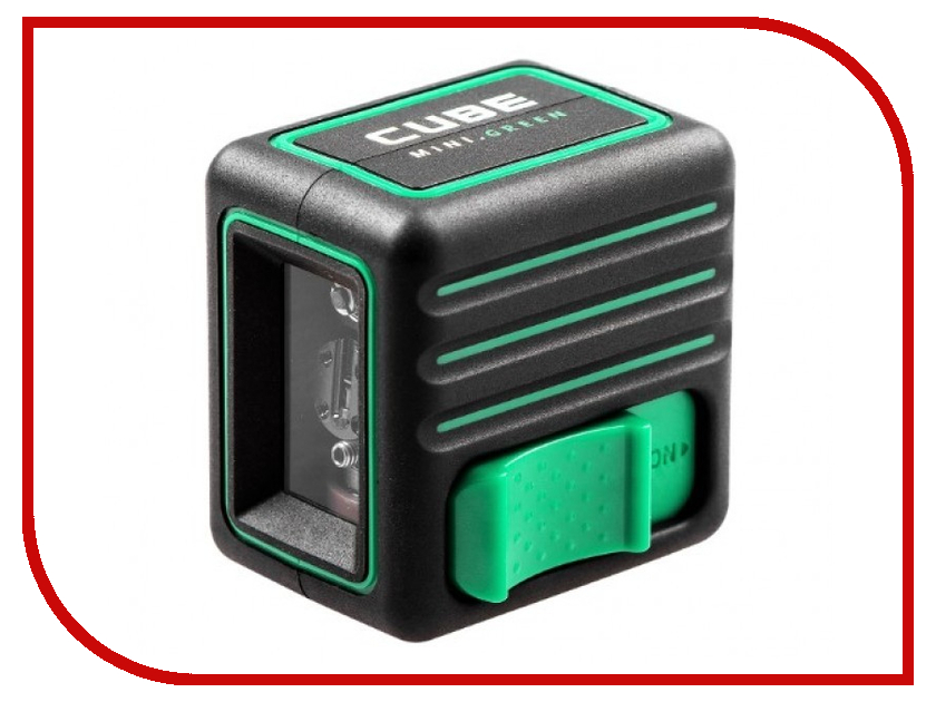 Нивелир ADA instruments Cube MINI Green Basic Edition нивелир ada instruments cube mini green home edition