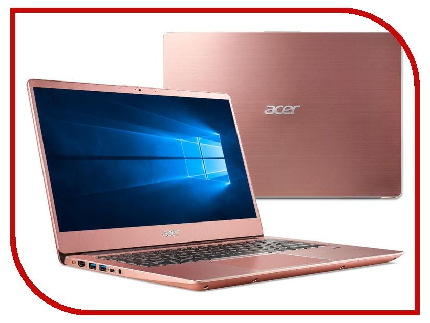 Ноутбук Acer Swift SF314-56G-50S6 Pink NX.H4ZER.002 (Intel Core i5-8265U 1.6 GHz/8192Mb/256Gb SSD/nVidia GeForce MX150 2048Mb/Wi-Fi/Bluetooth/Cam/14.0/1920x1080/Windows 10 Home 64-bit) цена