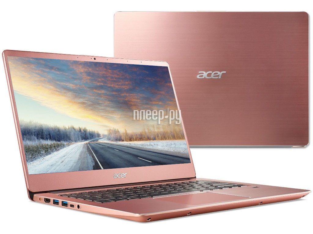 Ноутбук Acer Swift SF314-56-76KR Pink NX.H4GER.003 (Intel Core i7-8565U 1.8 GHz/8192Mb/256Gb SSD/Intel HD Graphics/Wi-Fi/Bluetooth/Cam/14.0/1920x1080/Linux) ноутбук acer swift 3 sf314 55 72fh silver nx h3wer 010 intel core i7 8565u 1 8 ghz 8192mb 512gb ssd intel uhd graphics 620 wi fi bluetooth cam 14 0 1920x1080 linux