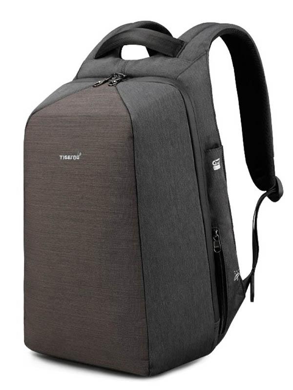 цена Рюкзак Tigernu 15.6-inch T-B3361 Dark Grey онлайн в 2017 году