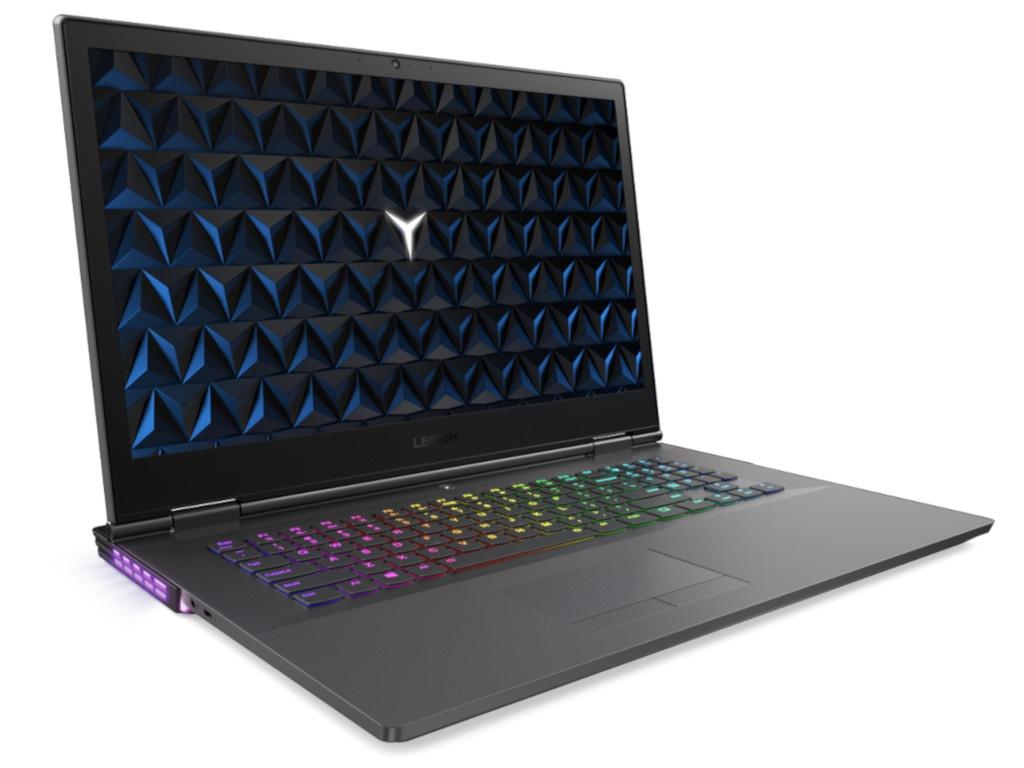 Ноутбук Lenovo Legion Y730-17ICH 81HG003DRU Black (Intel Core i5-8300H 2.3GHz/8192Mb/1000Gb+128Gb SSD/nVidia GeForce GTX1050Ti 4096Mb/Wi-Fi/Bluetooth/Cam/17.3/1920x1080/Windows 10)