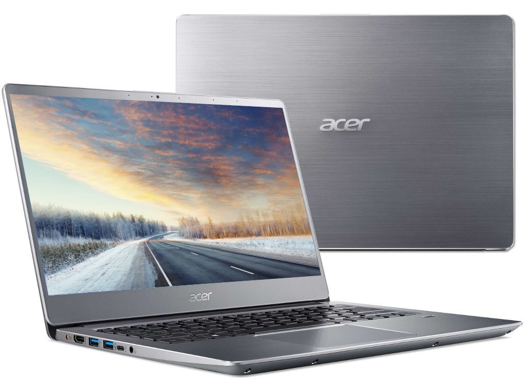 Ноутбук Acer Swift SF314-56G-53KG Silver NX.H4LER.001 (Intel Core i5-8265U 1.6 GHz/8192Mb/256Gb SSD/nVidia GeForce MX150 2048Mb/Wi-Fi/Bluetooth/Cam/14.0/1920x1080/Linux) цена