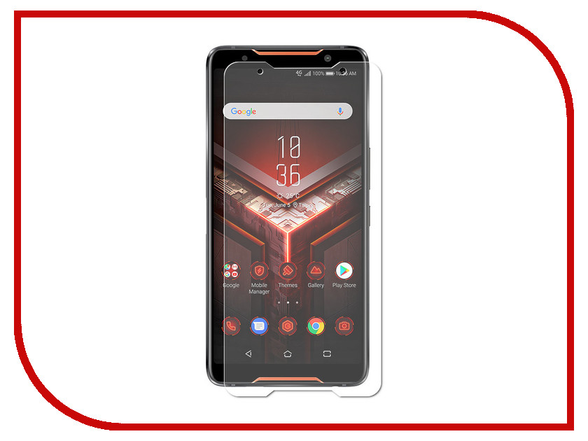Аксессуар Защитная пленка для ASUS ROG Phone ZS600KL LuxCase суперпрозрачная 55858