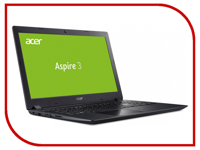 Ноутбук Acer Aspire A315-21G-66F2 Black NX.GQ4ER.078 (AMD A6-9220e 1.6 GHz/6144Mb/1000Gb/AMD Radeon 520 2048Mb/Wi-Fi/Bluetooth/Cam/15.6/1920x1080/Windows 10 Home 64-bit) a315 21g 64aa
