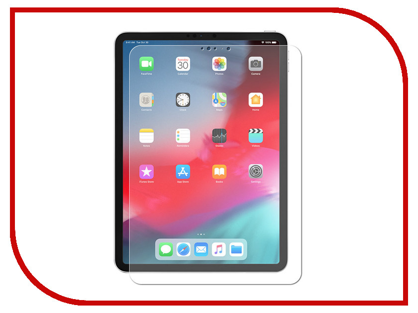 Аксессуар Защитная пленка для APPLE ipad Pro 2018 11 LuxCase суперпрозрачная 81247 аксессуар чехол luxcase premium для ipad 2 3 4 гладкая кожа white 10368