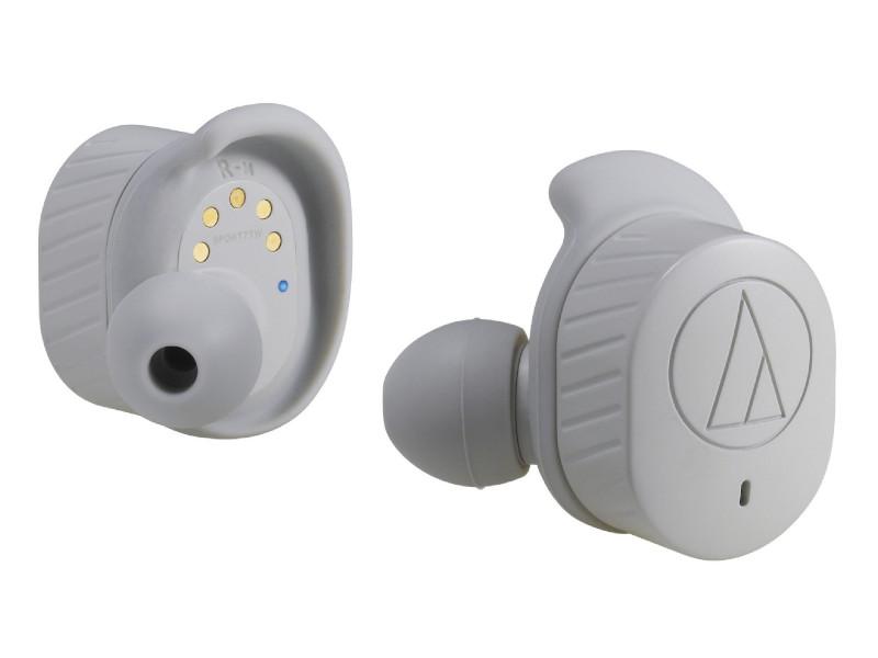 Наушники Audio-Technica ATH-SPORT7TW GY
