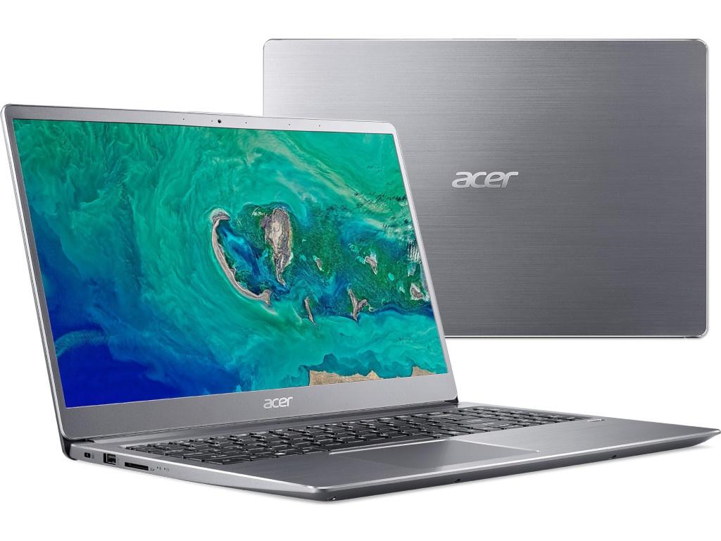 Ноутбук Acer Swift 3 SF315-52G-50UB Silver NX.GZAER.001 (Intel Core i5-8250U 1.6 GHz/8192Mb/256Gb SSD/nVidia GeForce MX150 2048Mb/Wi-Fi/Bluetooth/Cam/15.6/1920x1080/Linux) цена и фото