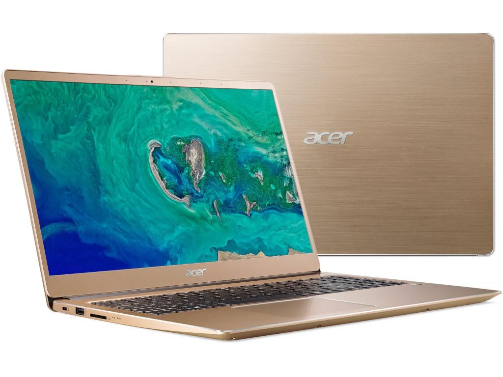 Ноутбук Acer Swift 3 SF315-52-50TG Gold NX.GZBER.002 (Intel Core i5-8250U 1.6 GHz/8192Mb/256Gb SSD/Intel HD Graphics/Wi-Fi/Bluetooth/Cam/15.6/1920x1080/Windows 10 Home 64-bit) ультрабук acer swift 3 sf315 52g 52b4 nx gzcer 002