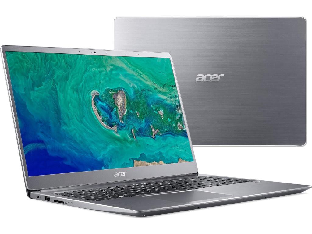 Ноутбук Acer Swift 3 SF315-52-50M2 Silver NX.GZ9ER.001 (Intel Core i5-8250U 1.6 GHz/8192Mb/256Gb SSD/Intel HD Graphics/Wi-Fi/Bluetooth/Cam/15.6/1920x1080/Linux) цена