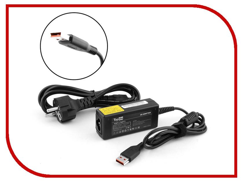 Блок питания TopON TOP-LT40Y3 20V 2A 40W для Lenovo Yoga 3/Yoga 3 Pro/IdeaPad Miix 2/Miix 700 Series