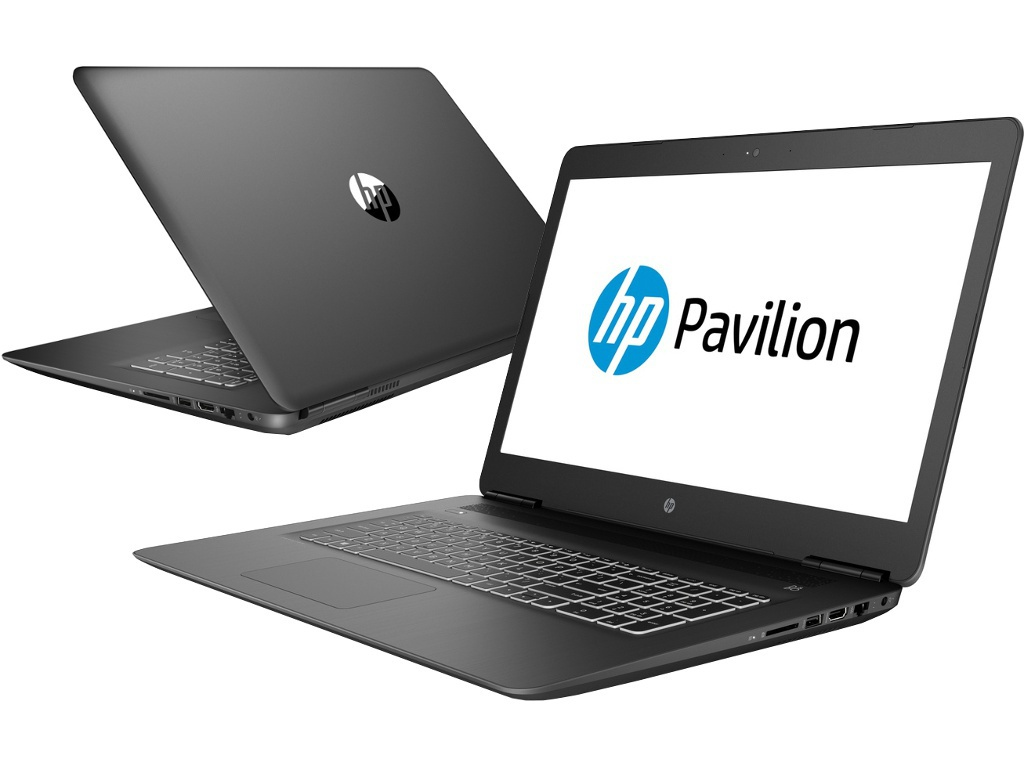 Ноутбук HP Pavilion 17-ab402ur Shadow Black 4GS34EA (Intel Core i5-8300H 2.3 GHz/8192Mb/1000Gb+128Gb SSD/DVD-RW/nVidia GeForce GTX 1050 4096Mb/Wi-Fi/Bluetooth/Cam/17.3/1920x1080/Windows 10 Home 64-bit)