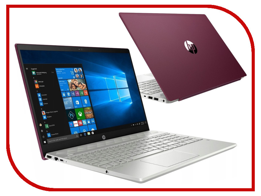 Ноутбук HP Pavilion 15-cw0019ur Velvet Burgundy 4MT03EA (AMD Ryzen 3 2300U 2.0 GHz/4096Mb/1000Gb/AMD Radeon Vega 6/Wi-Fi/Bluetooth/Cam/15.6/1920x1080/Windows 10 Home 64-bit) ноутбук hp 15 db0206ur amd a4 9125 2300 mhz 15 6 1366x768 4gb 500gb hdd dvd rw amd radeon r3 wi fi bluetooth windows 10 home