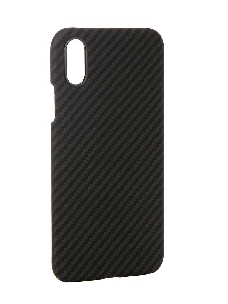 Аксессуар Чехол Pitaka для APPLE iPhone XS MagCase Black-Grey KI8001XS аксессуар чехол для apple iphone x pitaka aramid case black yellow twill ki8006x