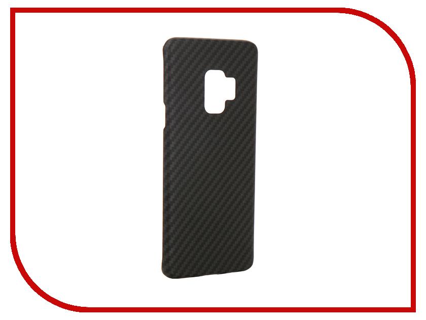 Аксессуар Чехол для Samsung Galaxy S9 Pitaka MagCase Black KS9001 аксессуар чехол samsung j3 2017 j330f zibelino clear view black zcv sam j330 blk