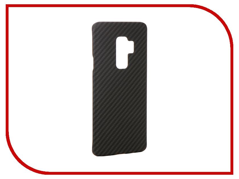 Аксессуар Чехол для Samsung Galaxy S9 Plus Pitaka MagCase Black KS9001S nillkin qin leather case чехол для samsung galaxy s9 plus black