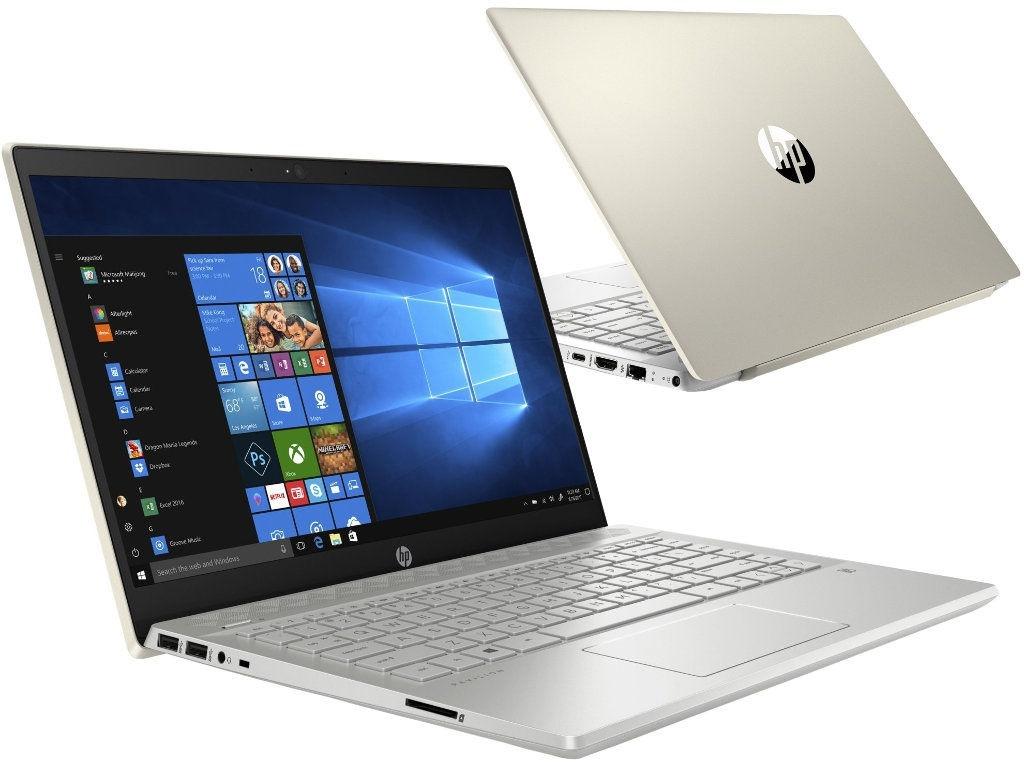 Ноутбук HP Pavilion 14-ce1009ur Pale Gold 5SU43EA (Intel Core i5-8265U 1.6 GHz/8192Mb/1000Gb+128Gb SSD/nVidia GeForce MX150 2048Mb/Wi-Fi/Bluetooth/Cam/14.0/1920x1080/Windows 10 Home 64-bit)