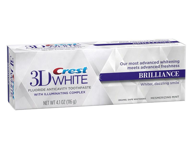 Зубная паста Crest 3D White Brilliance 116гр crest 200g