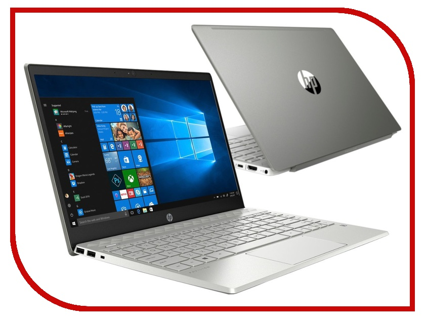 Ноутбук HP Pavilion 13-an0030ur Mineral Silver 5CV30EA (Intel Core i3-8145U 2.1 GHz/4096Mb/128Gb SSD/Intel HD Graphics/Wi-Fi/Bluetooth/Cam/13.3/1920x1080/Windows 10 Home 64-bit) цена