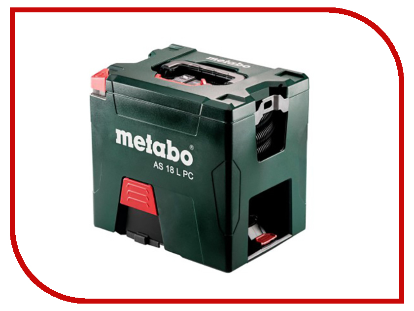 Пылесос Metabo AS18LPC602021850 промышленный пылесос metabo asa 25 l pc 602014000
