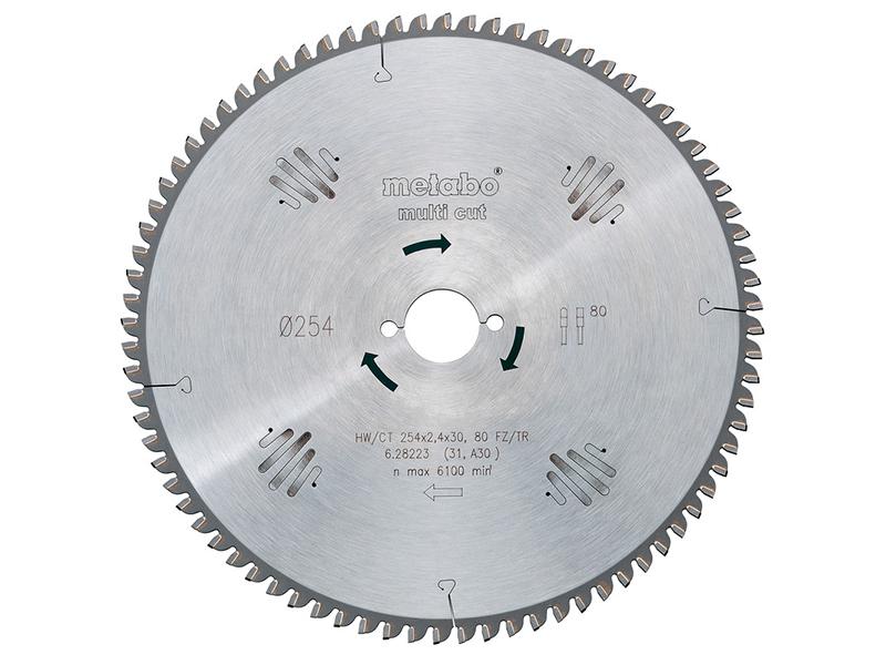 Диск Metabo HW/CT 160x20 42WZ пильный по ламинату, дереву, цветному металлу, мдф, дсп 628072000