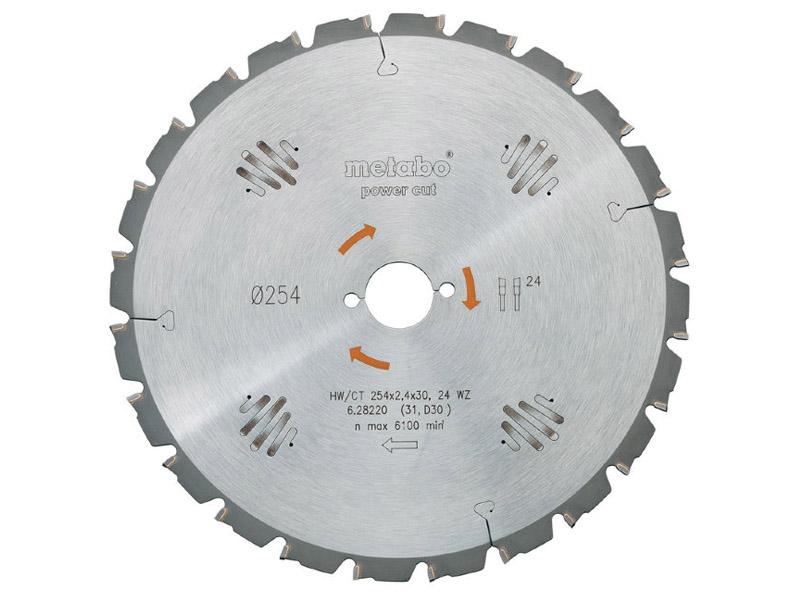 Диск Metabo HW/CT 315x30 20FZ пильный по дереву с гвоздями 628015000