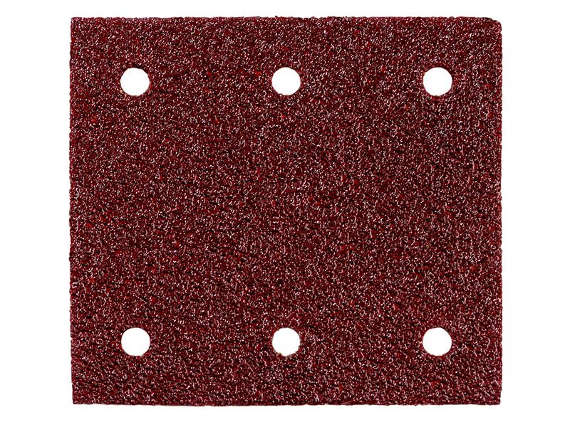 Шлифовальные листы на липучке Metabo P 120 115x103mm 10шт 625623000