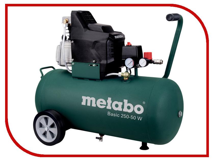 Компрессор Metabo Basic250-50W 601534000 компрессор metabo 250 24w