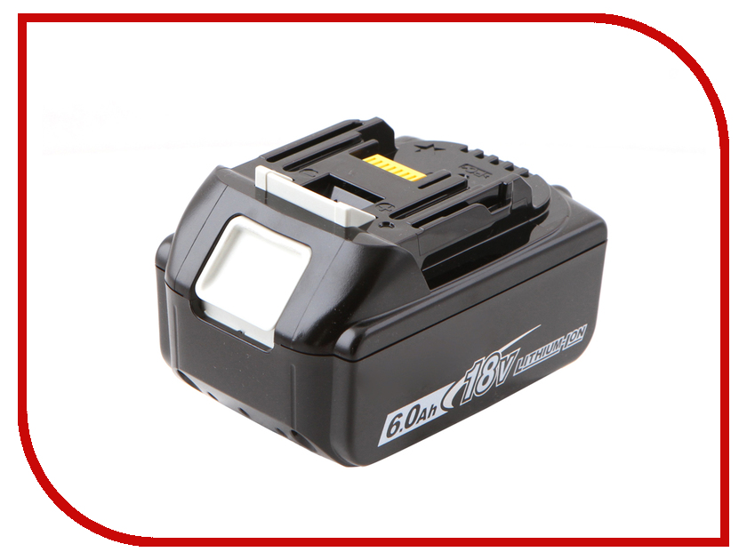 Аккумулятор Makita BL1860B Li-ion 18V 6.0Ah 197422-4 аккумулятор makita 193100 4