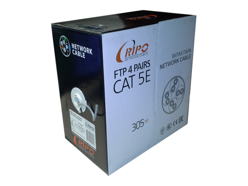 Сетевой кабель Ripo FTP4 cat.5e 24AWG CCA 001-122002/010409