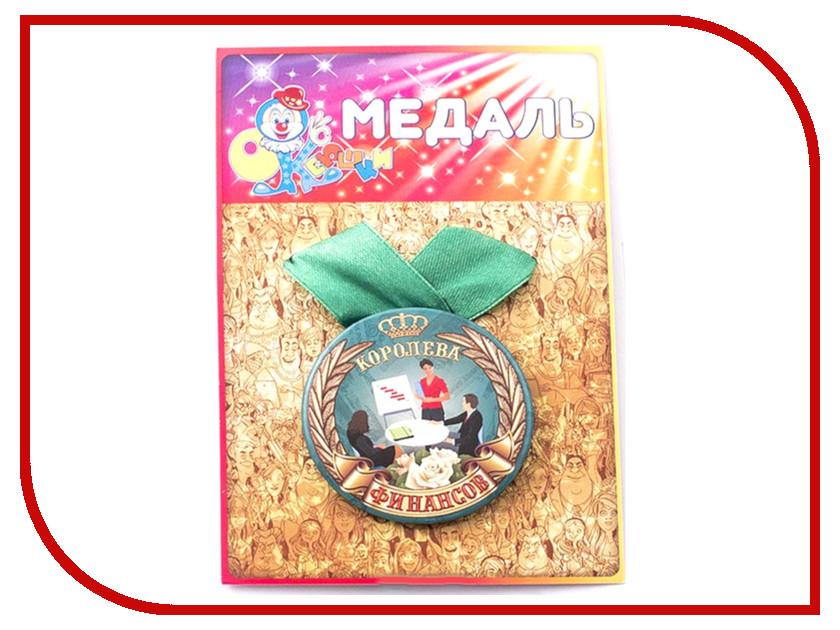 Медаль Эврика Королева финансов 97181